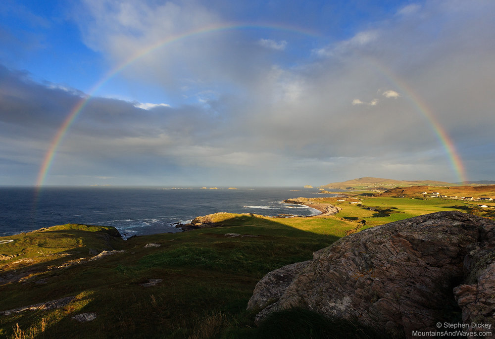 Malin Head Rainbow, County Donegal, Ireland