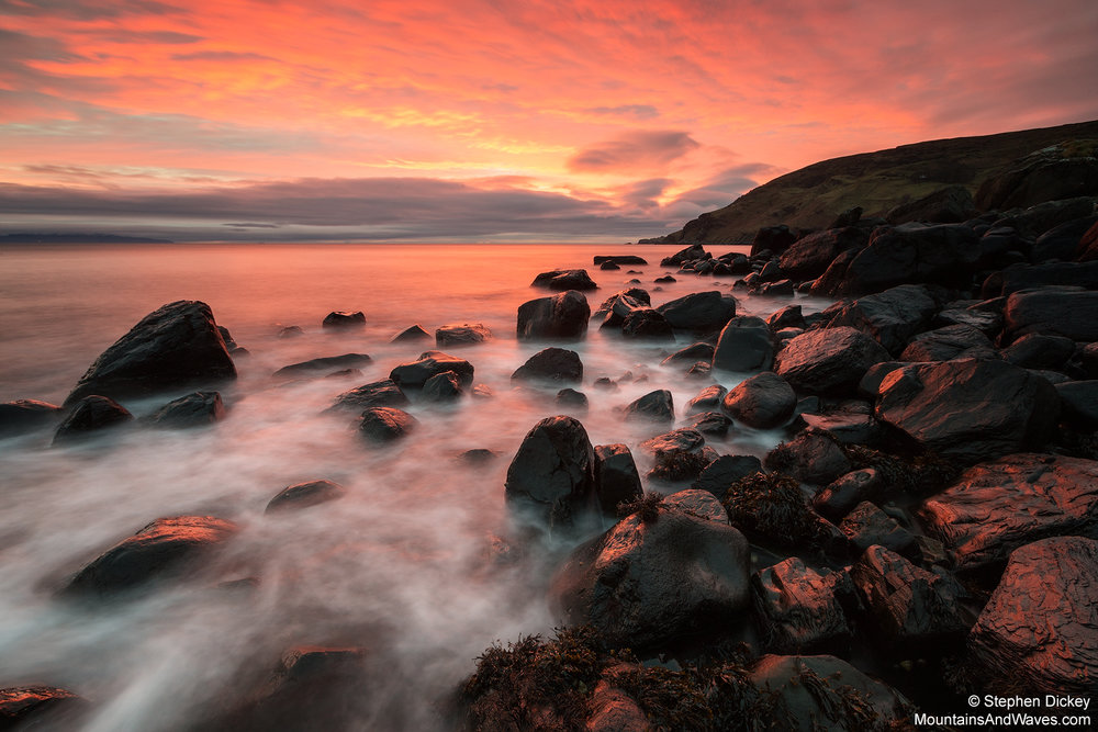 Murlough Bay, County Antrim, Northern Ireland