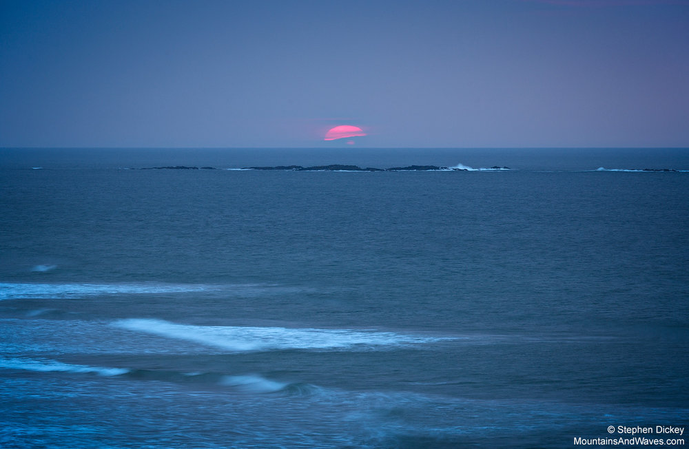 Sunset Orb, Portrush, Northern Ireland