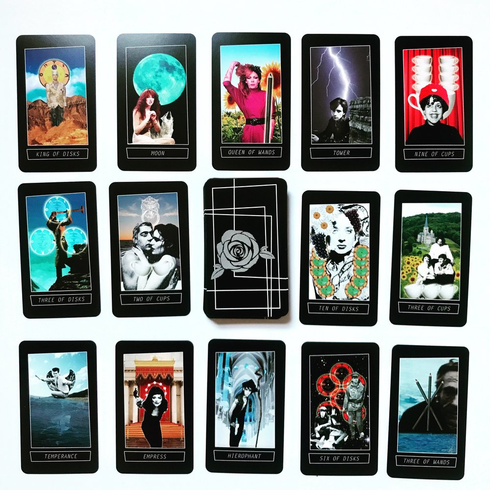 Dark Wave Tarot Cards - Last Craft Designs made this deck for all of us who obsess over the perfect mix-tape.