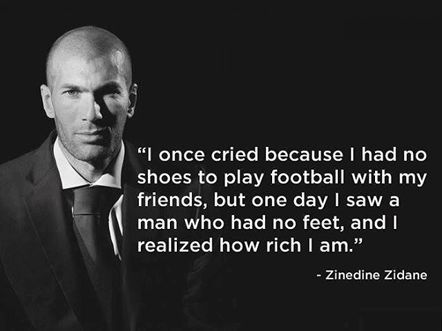 Brilliant quote from a Legend! #zizou #zinedinezidane #elitesoccer #epdsoccer #elite #soccer #futsal #jogabonito #futbol #soccerislife