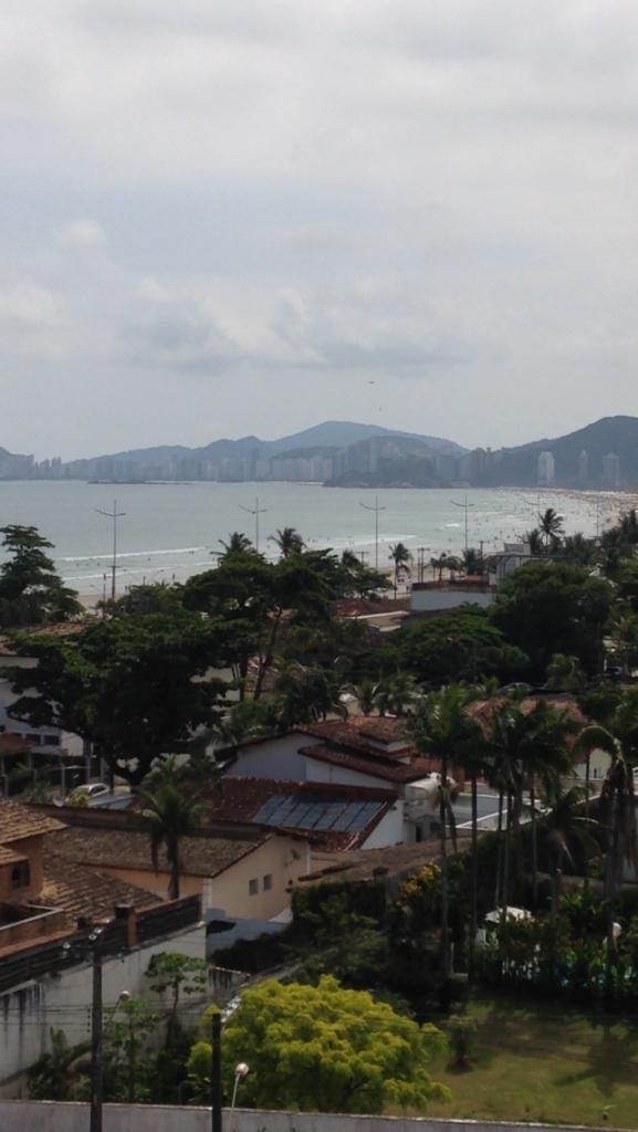 The beautiful beach of Guaruja. A two hour's drive east of Sao Paulo.