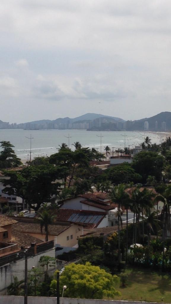 The beautiful beach of Guaruja.A two hour's drive east of Sao Paulo.