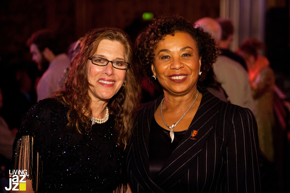 13_Living_Jazz_MLK_Tribute_BA_2012_Stacey_Hoffman_Congresswoman_Barbara_Lee 2.jpg