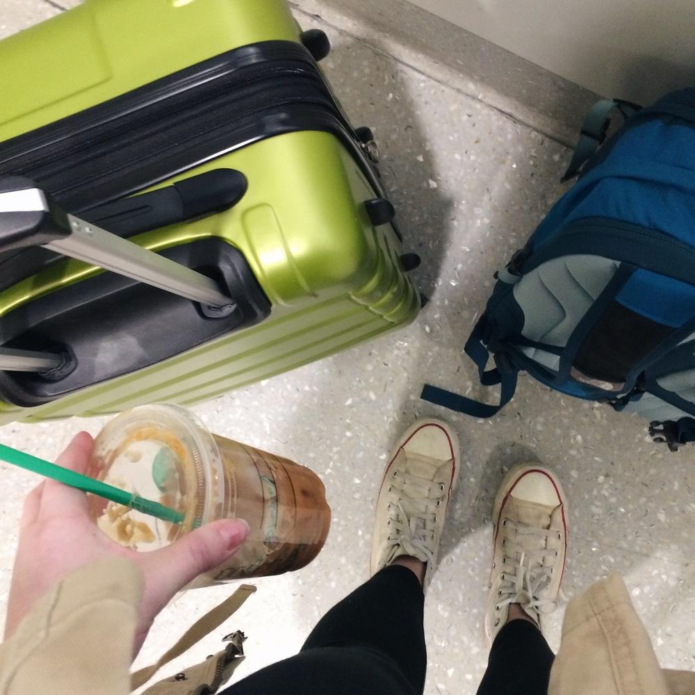 The travel necessities.