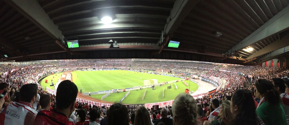 The atmosphere at these games is INSANE!