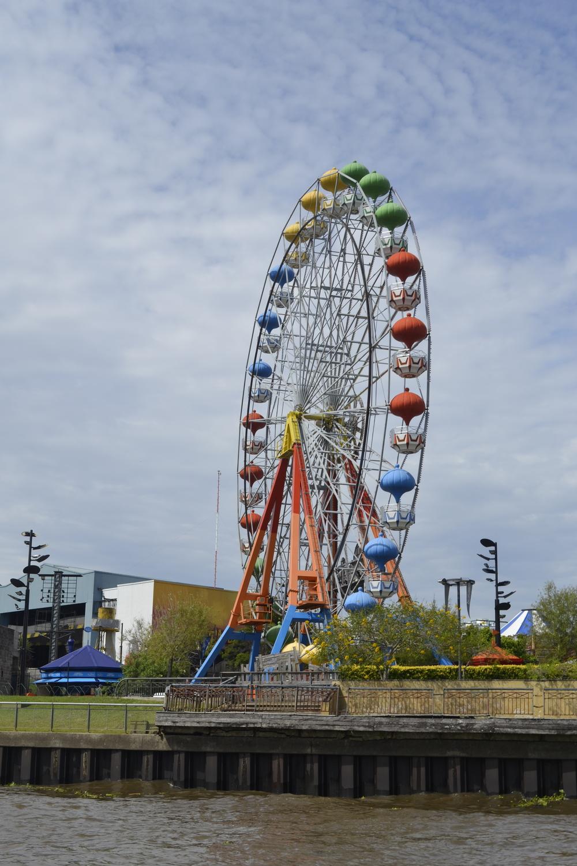 Spotted a colorful amusement park