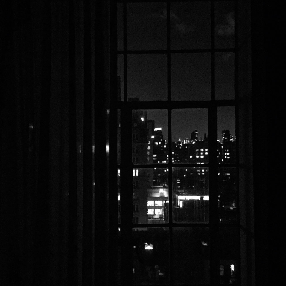 Night. New York, New York.