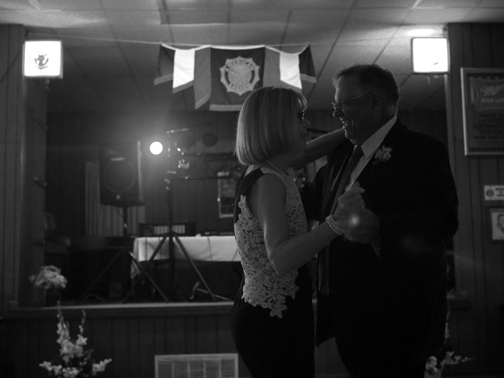 50th Wedding Anniversary Dance. Legion Hall.