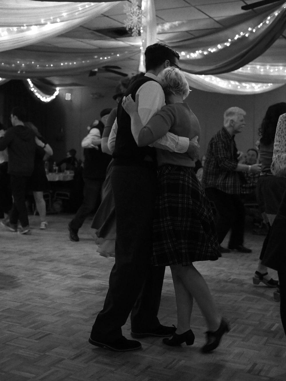 Dancers. December 2017.