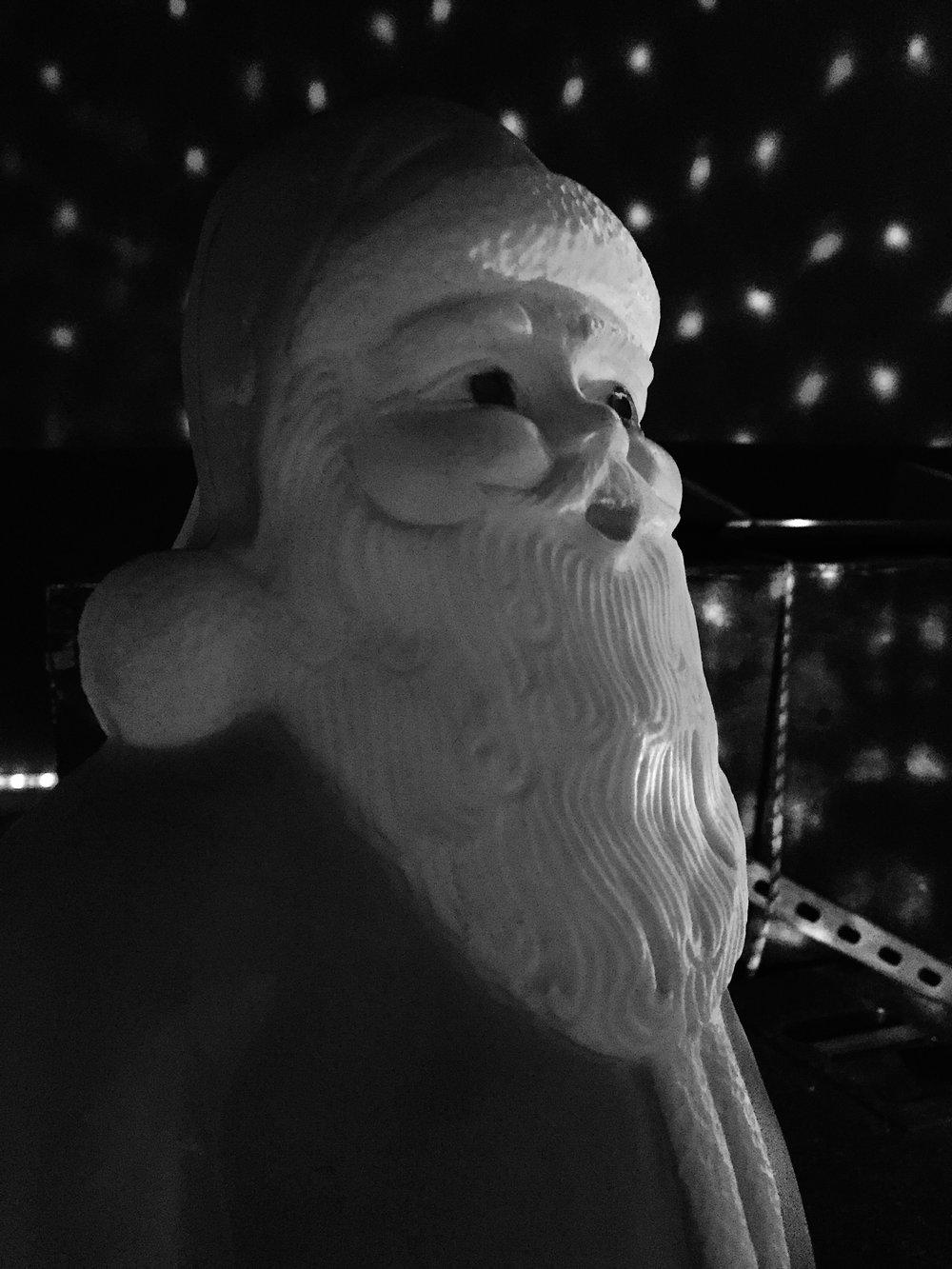 Santa. December 2017.