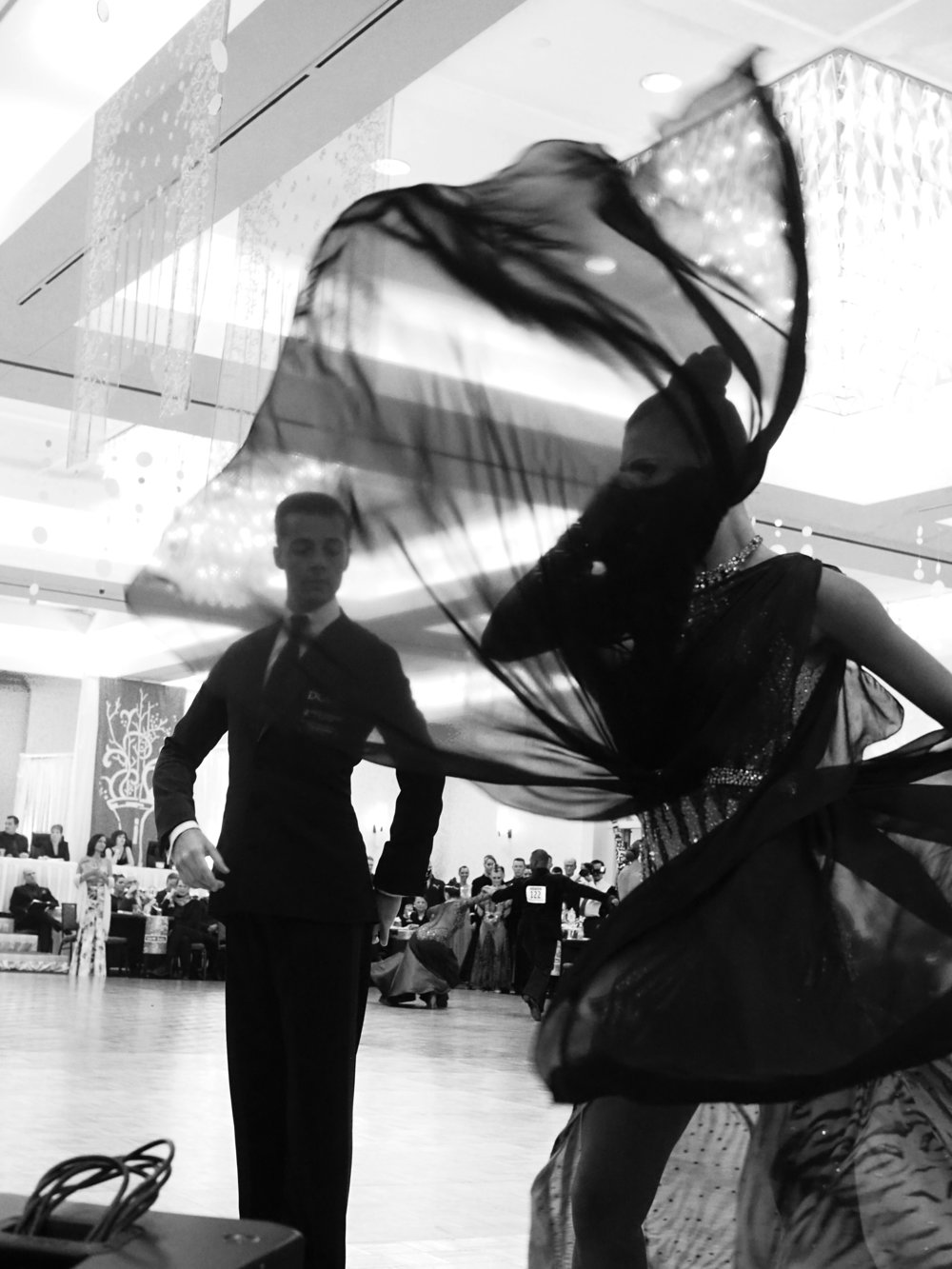 Ballroom competition. Minneapolis, MN.