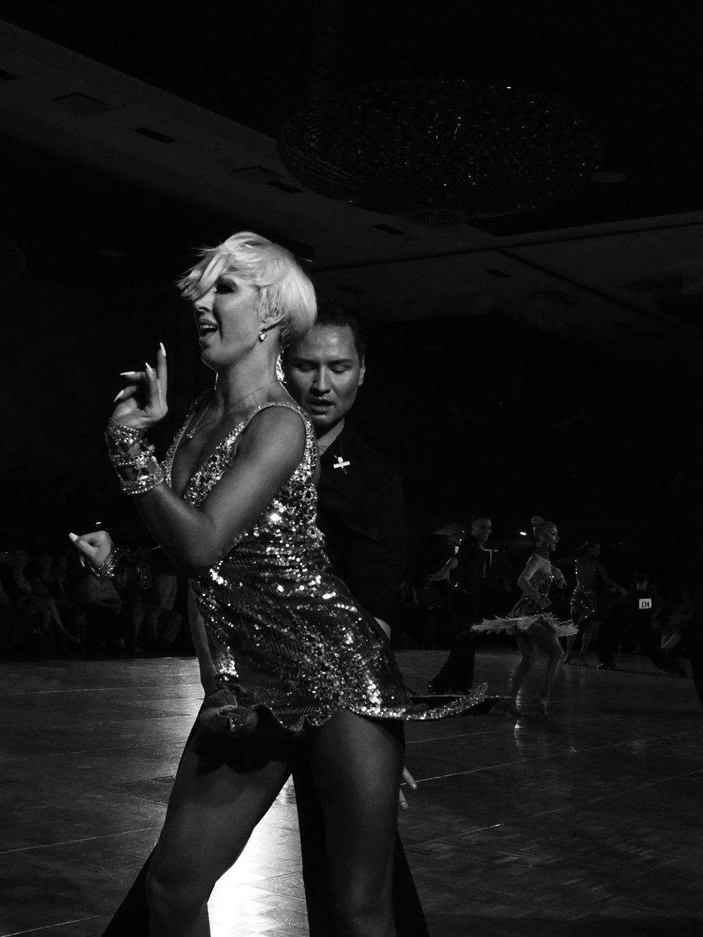 Ballroom competition. Minneapolis, MN. 2018.