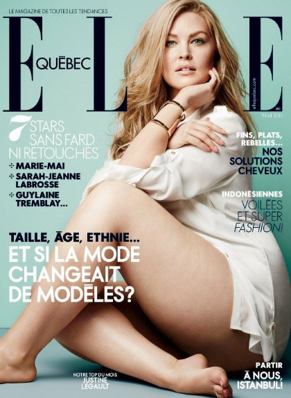 Cover of Elle Quebec May 201