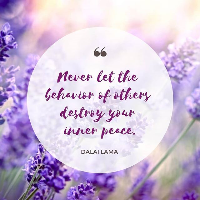A peaceful mind is essential for a healthy life.