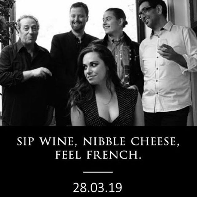 Monday blues? Book a Thursday date with us this week at @milkthecowmelb for our monthly French cheese and wine sesh - tix via their site! xx