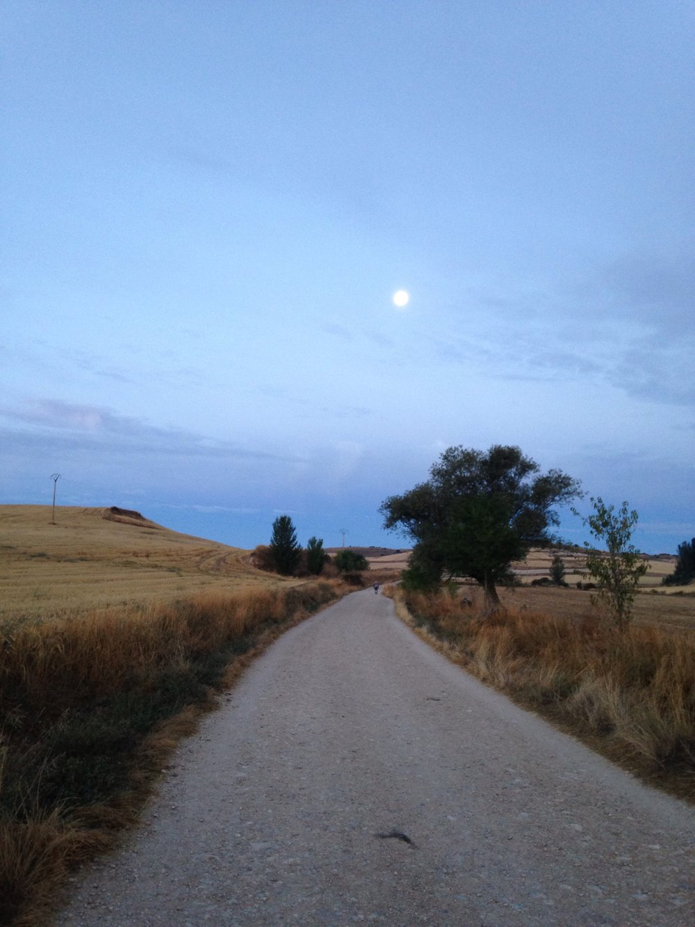 sunrise on the meseta