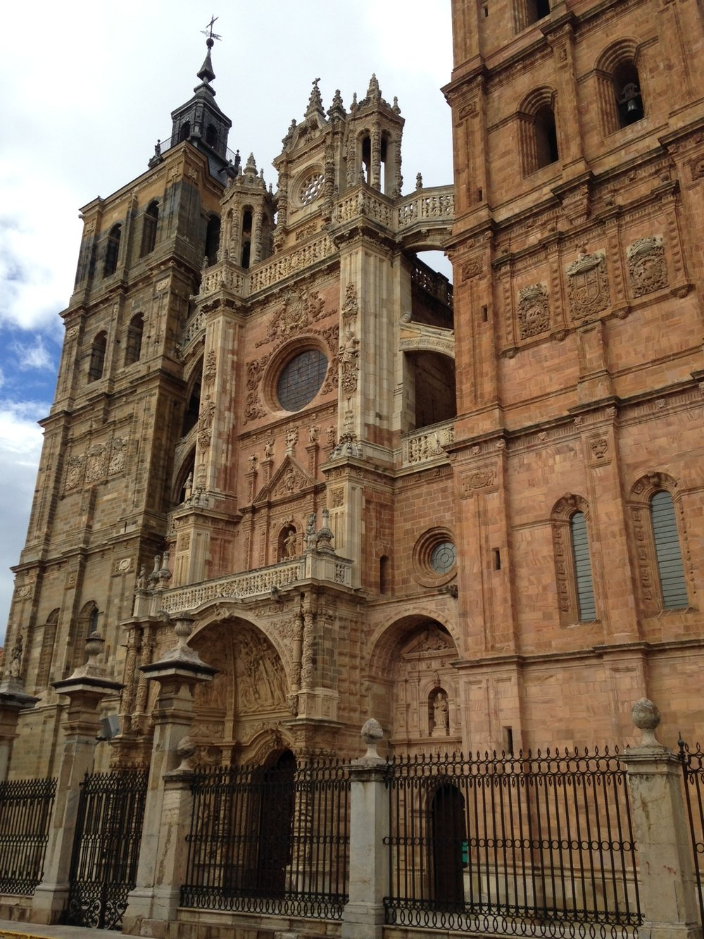 Astorga was lovely. With a beautiful cathedral too.