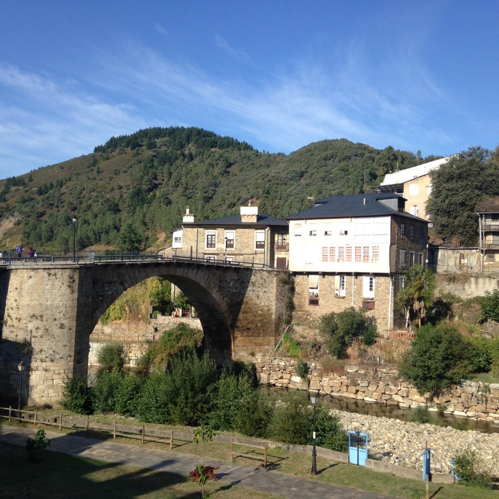 Leaving Villafranca