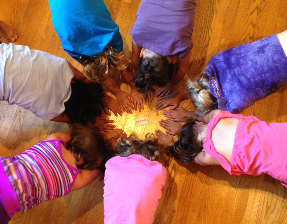 Soul Shine & Chill   Tweens (10-12) on their own or with 8-9 year-old siblings and/or parents are welcome!   A unique blend of grounding postures, breath work, meditation, deep relaxation and self-study to attune to body, mind and emotions. Expect to amp up your inner light, get IN-powered, cuddly, connected and expressive! Ground and glow with each class.    Let us know of your INTEREST and we will keep you posted with FUTURE dates.