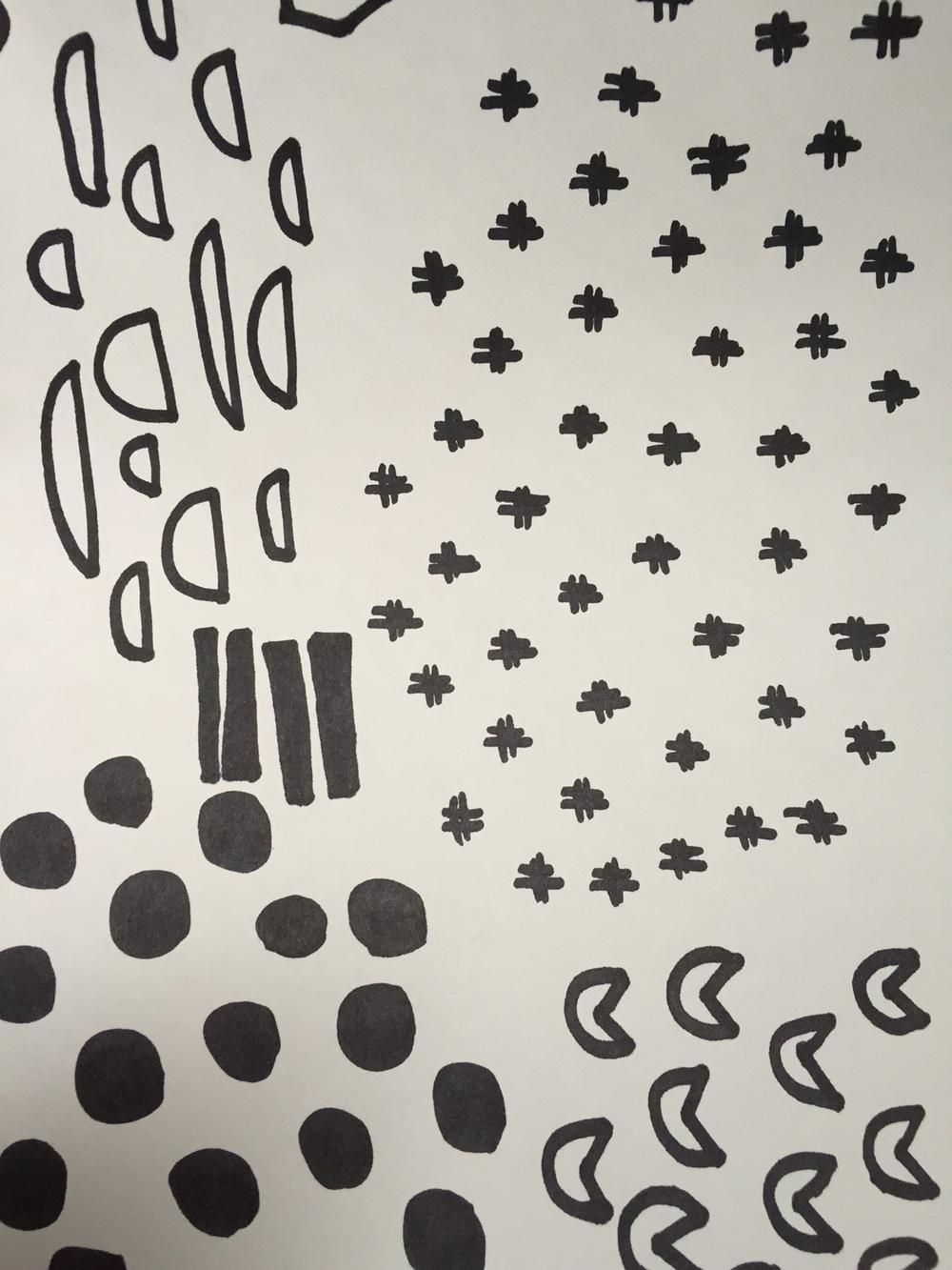 sharpie doodles