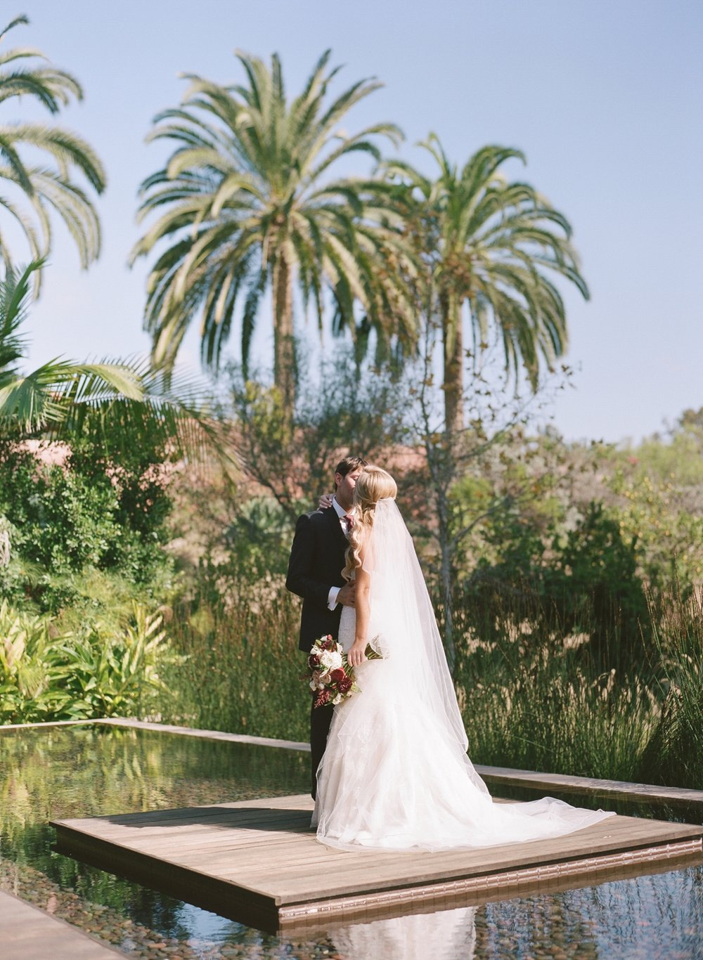 <b>Amanda + Jason</b><br><i>Rancho Valencia Resort | California</i>