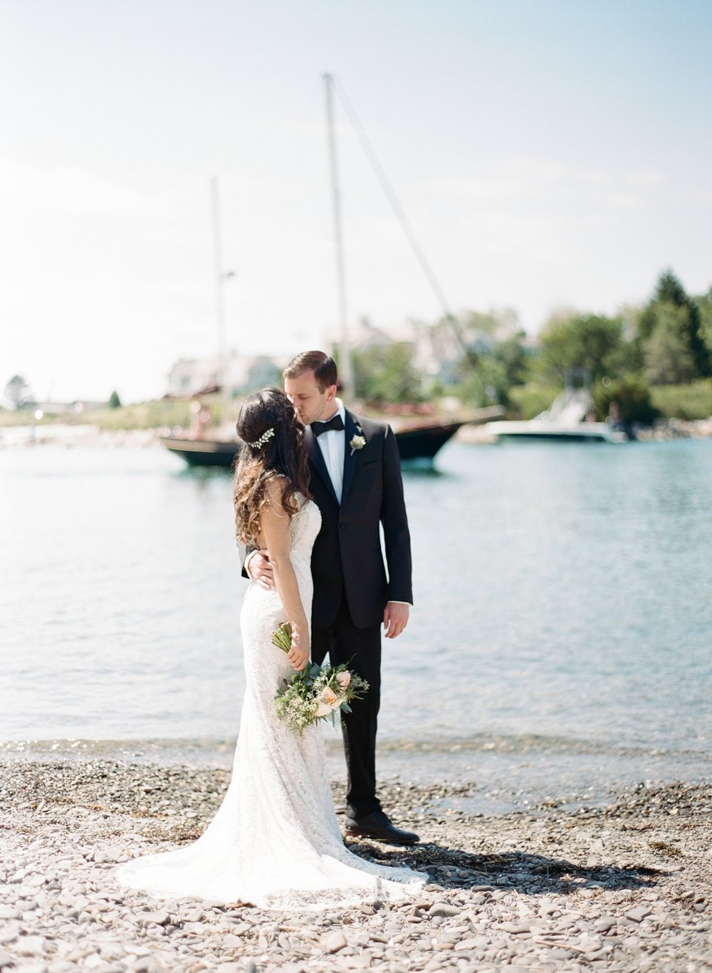 <b>Ashley + Max</b><br><i>Kennebunkport, Maine</i>