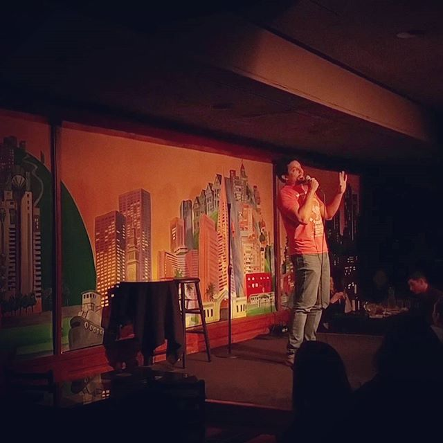First time doing @punchlinesf ! Amazing, packed out show! Thanks so much #sanfrancisco