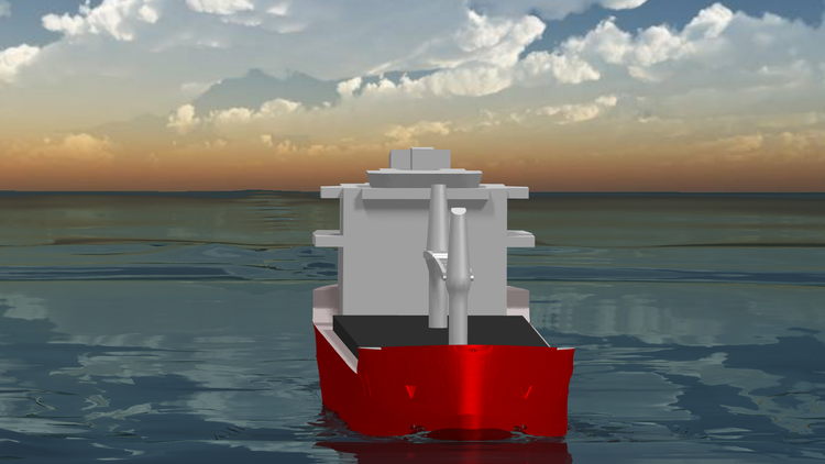Marine Ship CFD