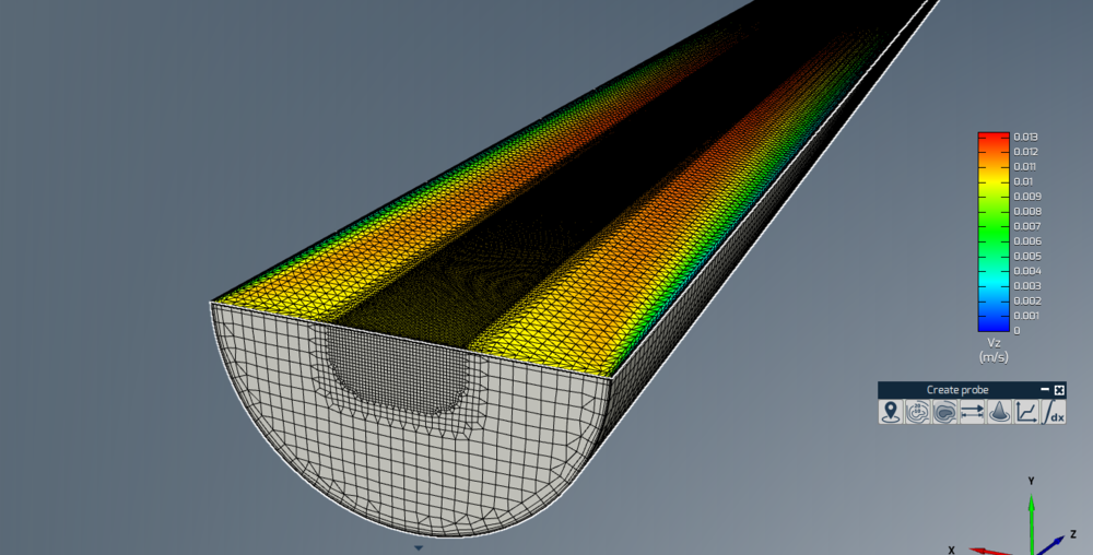 Figure 10: Mesh example with Refinement