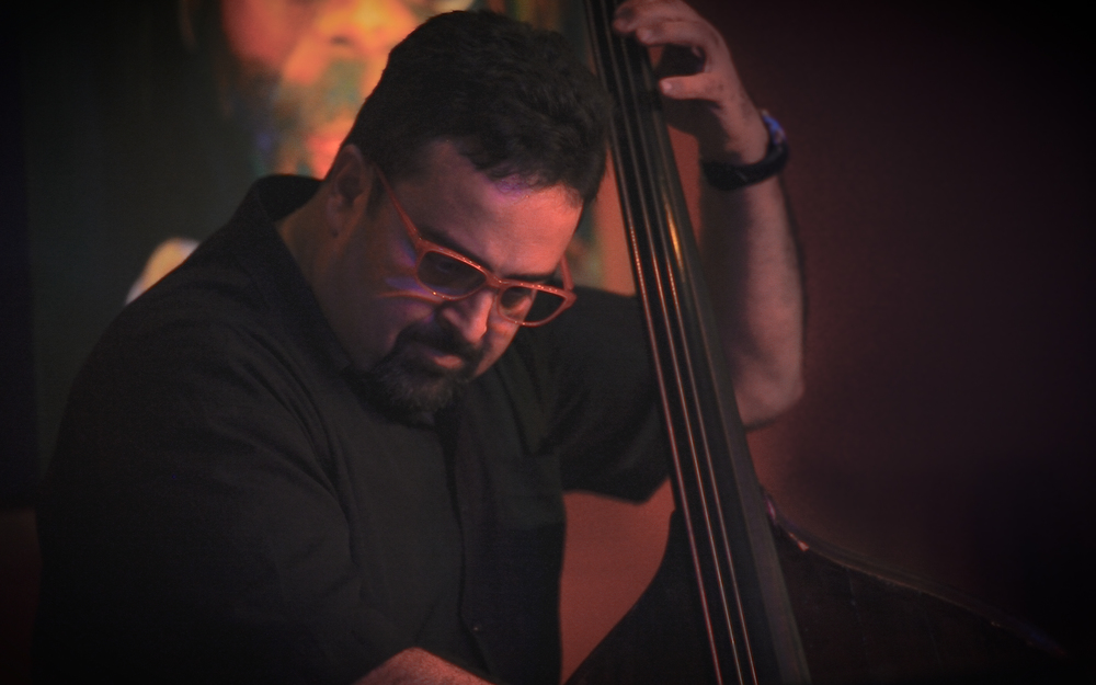 Frank DiSario - bassist for Jeremy Woolhouse's Silverbeat