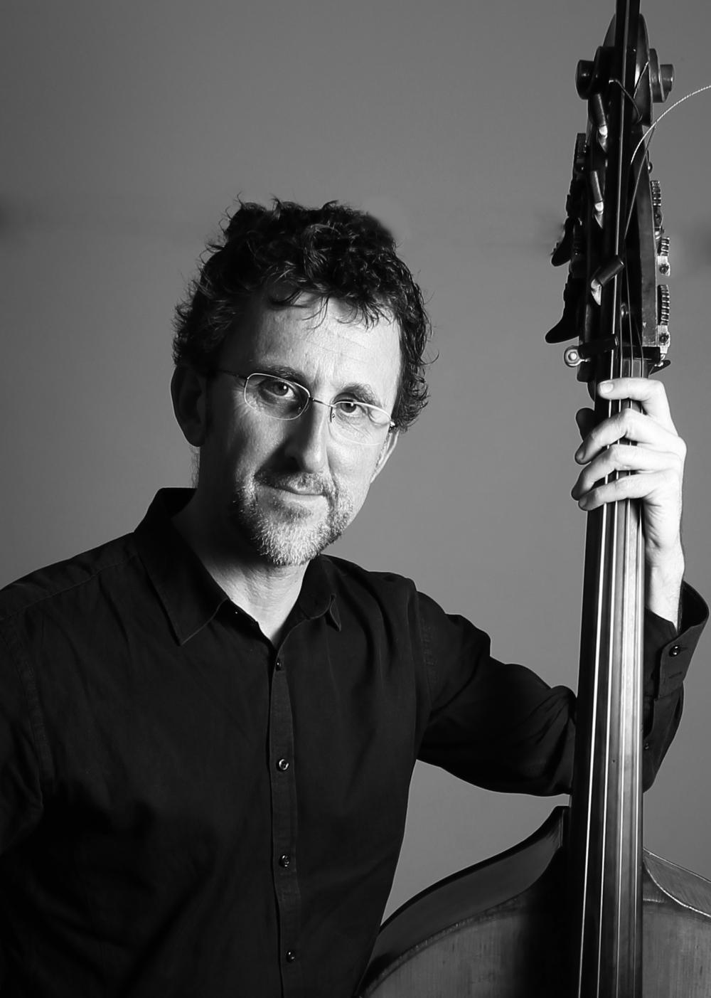 Ben Robertson - Double bassist for Woolhouse - Michailidis - Robertson