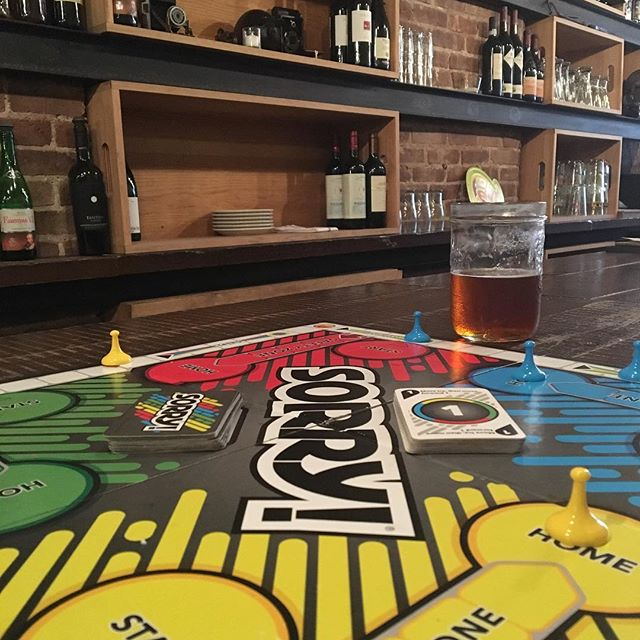 board games and beer #rainyday #goodtimes #sorry #cobblehill #saturdaydrinking
