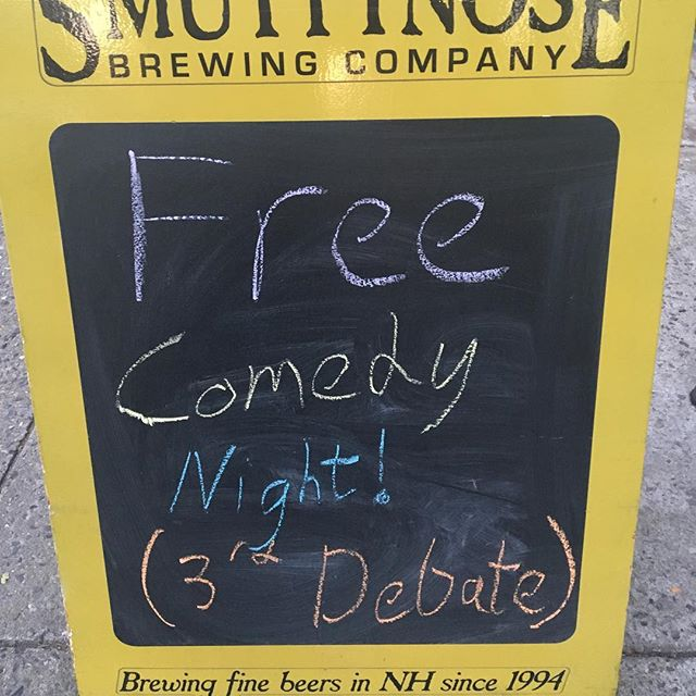 #politicalcircus #cobblehill #craftbeer #freecomedy  come watch the debate with us.  #24taps