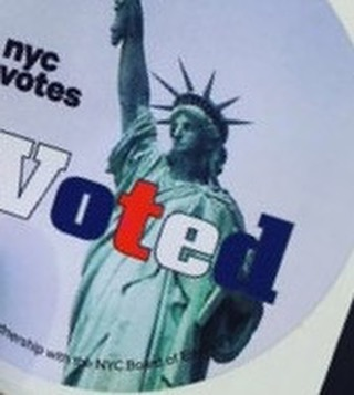 #ivoted come show us you voted - your second #beer is on us - #cobblehill #craftbeer #itmatters