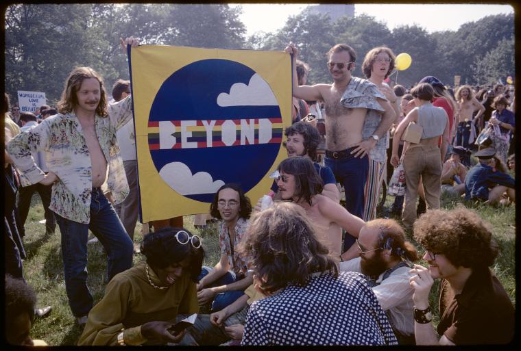 Diana Davies. Christopher Street Liberation Day, 1971