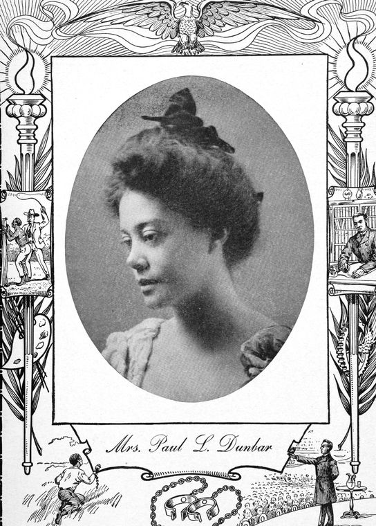 19th century author and civil rights activist, Alice Ruth Moore Dunbar Nelson, who lived on the Brooklyn waterfront in the 1890s