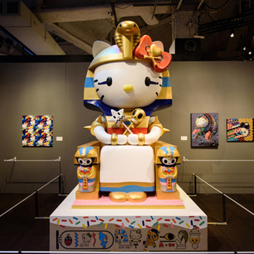 Hello! Exploring the Supercute World of Hello Kitty Originated at the Japanese American National Museum in partnership with Sanrio, with design and fabrication by Curatorial Assistance, traveled by Epic Exhibitions [various roles, since 2013]
