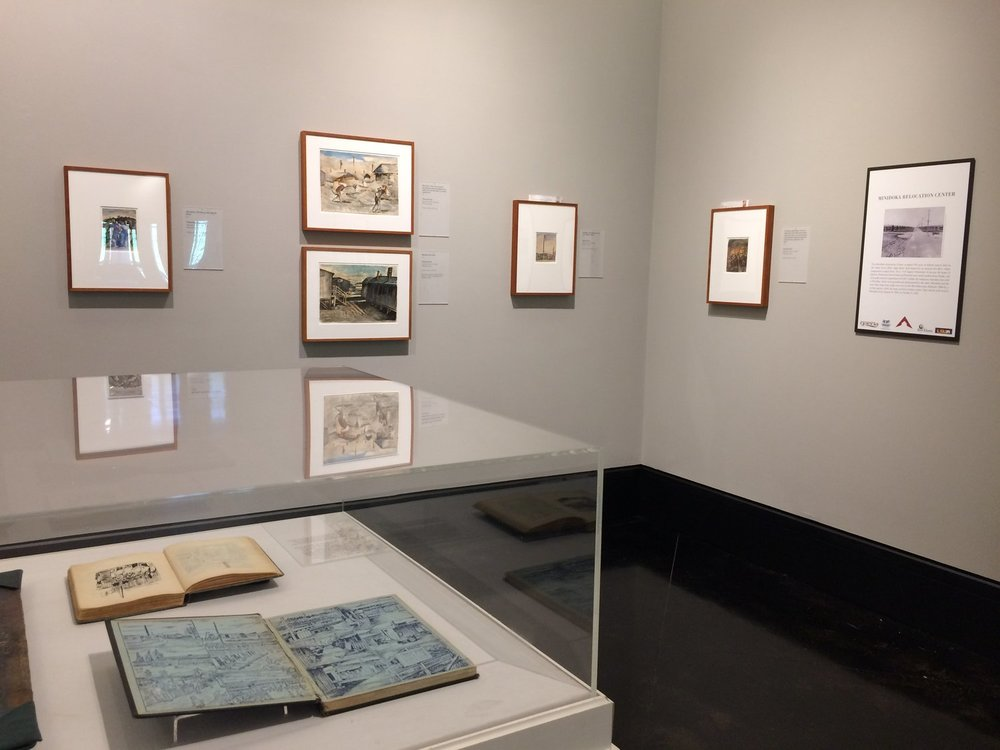 Witness to Wartime: The Painted Diary of Takuichi Fujii,  traveled by  CATE