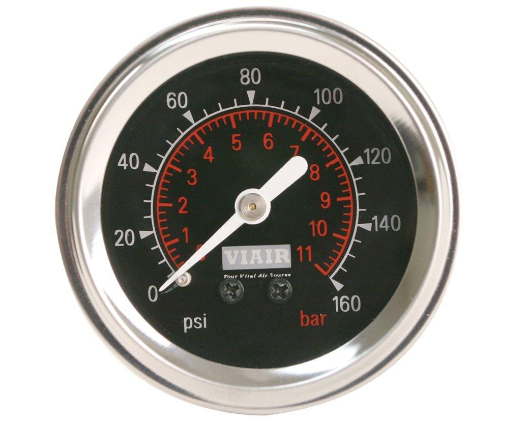 Viair Wiring Diagram : Viair pressure gauge white or black backlit u skully customs