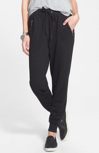 Socialite Zip Pocket Jogger Pants / Nordstrom