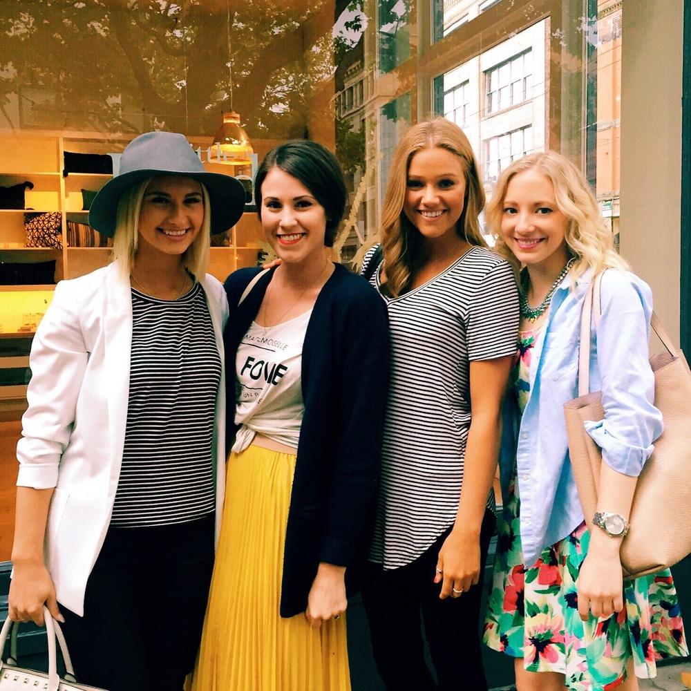 Rose, Jenna, Breanna, Allison