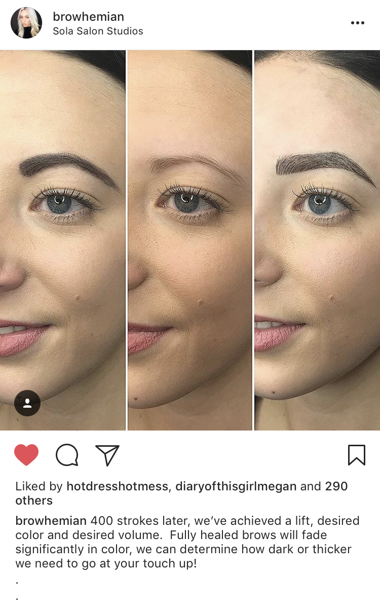 Microblading My Experience And Need To Knows West Coast Aesthetic