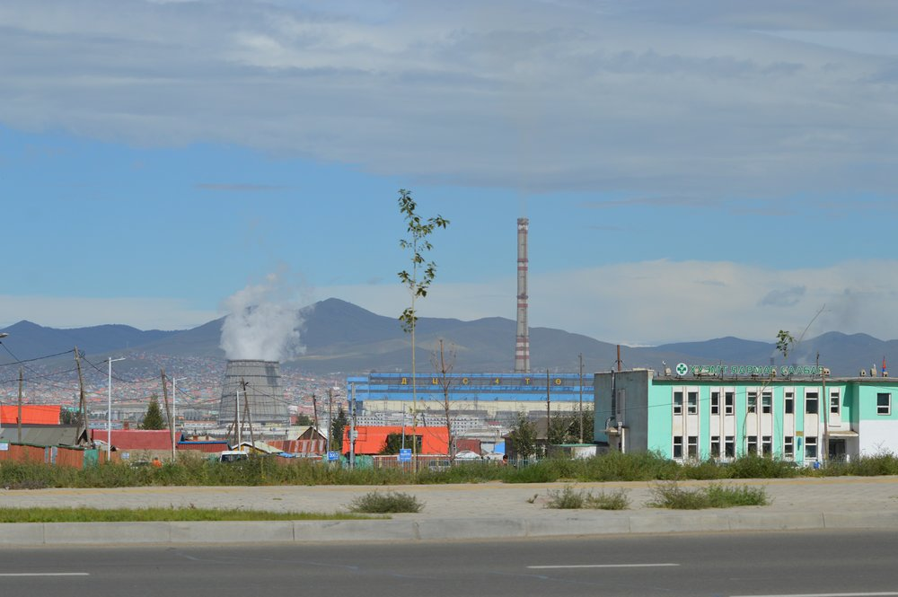 The outskirts of Ulaanbaatar, Mongolia