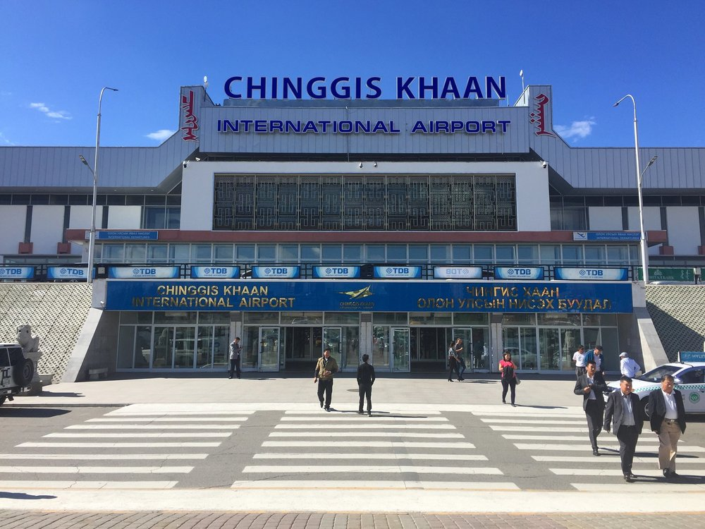 Chinggis Khaan International Airport: Ulaanbaatar, Mongolia