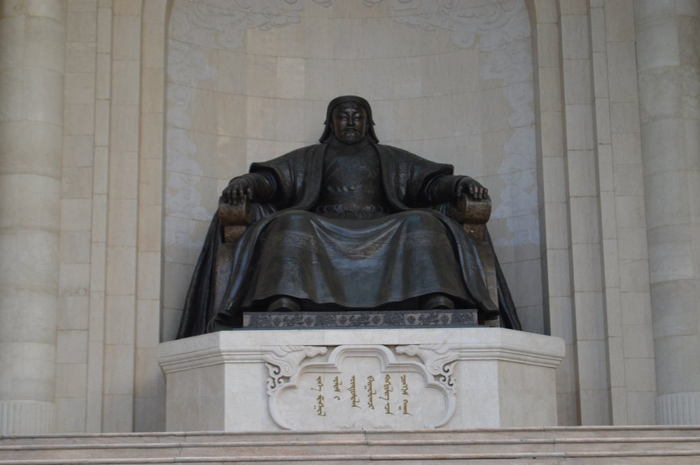 Monument to Chinggis Khaan