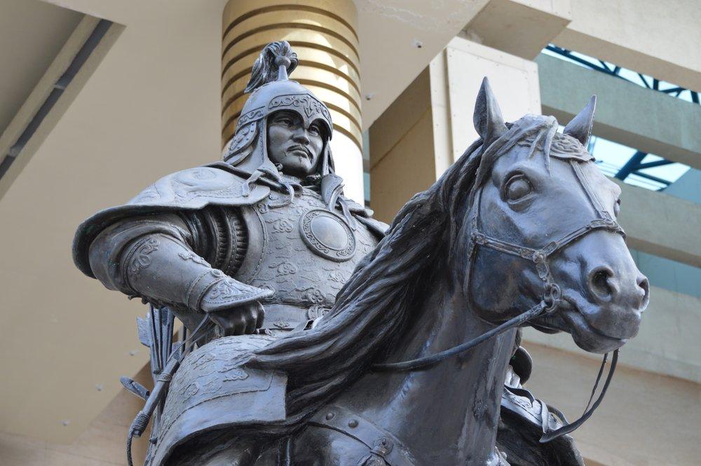 Statue of Ögedei Khaan