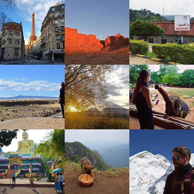 It's been one fun year and we have some posts to catch up on from our travels in 2016! Wishing you and yours a Happy New Year!!! #2016bestnine