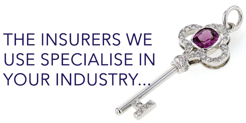 The insurers we use specialise in your industry