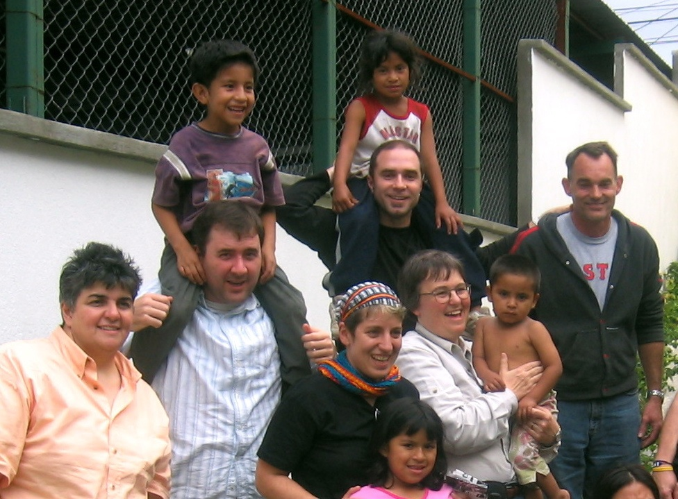 RWF volunteers visiting Children at Project Safe Passage in Guatemala City, Guatemala.